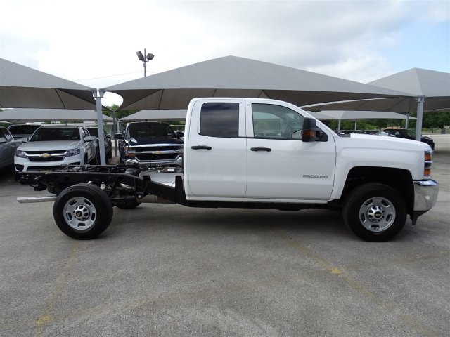 2018 Silverado 2500 Double Cab 4x2,  Cab Chassis #CC81848 - photo 4