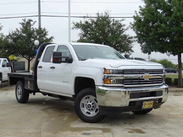 2018 Silverado 2500 Double Cab 4x2,  Cab Chassis #CC81898 - photo 3