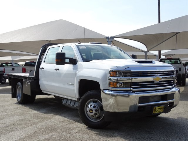 2018 Silverado 3500 Crew Cab DRW 4x2,  CM Truck Beds Platform Body #CC81905 - photo 3