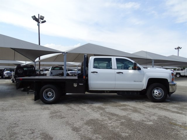2018 Silverado 3500 Crew Cab DRW 4x2,  CM Truck Beds Platform Body #CC81905 - photo 4