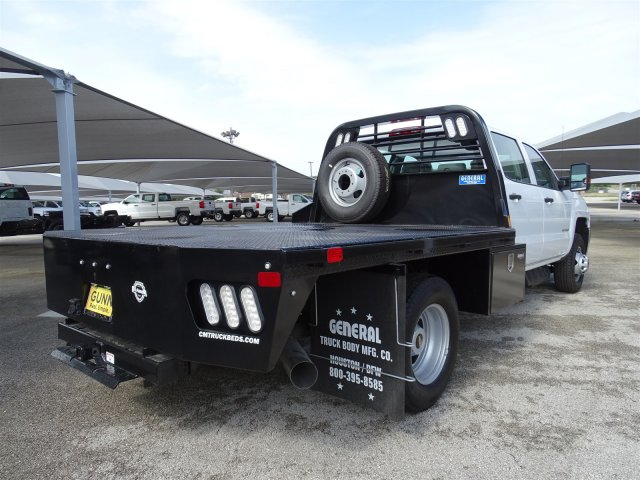 2018 Silverado 3500 Crew Cab DRW 4x2,  CM Truck Beds Platform Body #CC81905 - photo 5