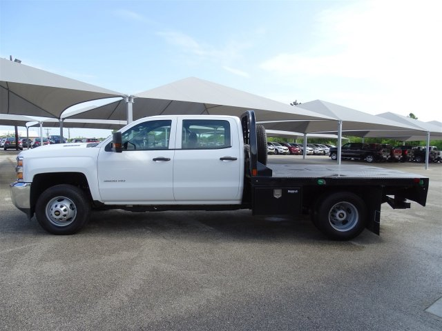 2018 Silverado 3500 Crew Cab DRW 4x2,  CM Truck Beds Platform Body #CC81905 - photo 8