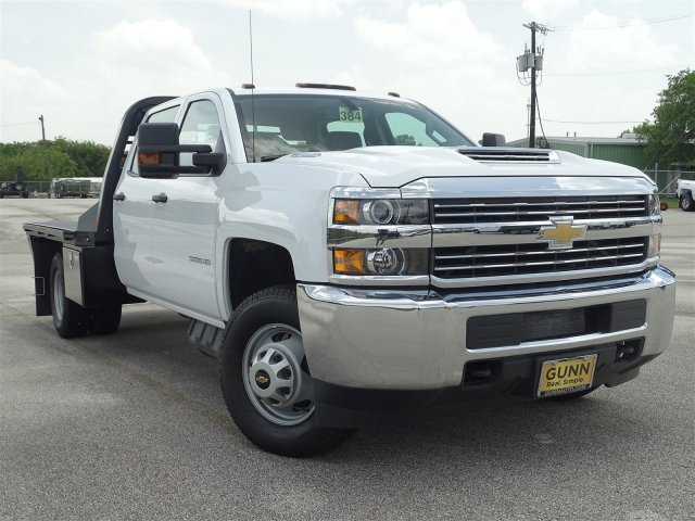 2018 Silverado 3500 Crew Cab DRW 4x4,  CM Truck Beds Platform Body #CC81941 - photo 3