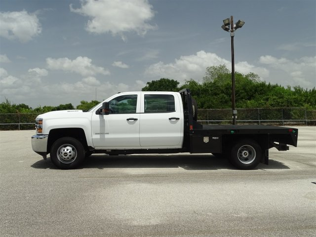 2018 Silverado 3500 Crew Cab DRW 4x4,  CM Truck Beds Platform Body #CC81941 - photo 5