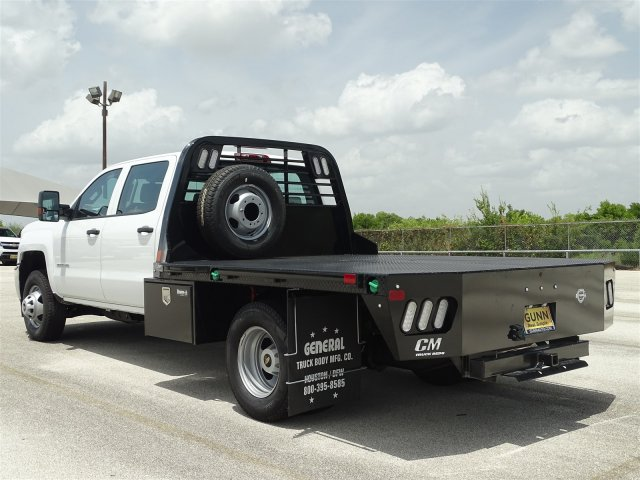 2018 Silverado 3500 Crew Cab DRW 4x4,  CM Truck Beds Platform Body #CC81941 - photo 2