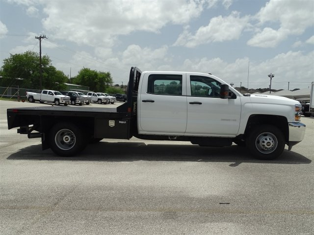2018 Silverado 3500 Crew Cab DRW 4x4,  CM Truck Beds Platform Body #CC81941 - photo 8