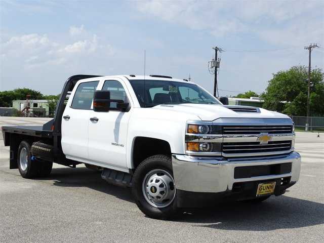 2018 Silverado 3500 Crew Cab DRW 4x2,  CM Truck Beds Platform Body #CC81942 - photo 3
