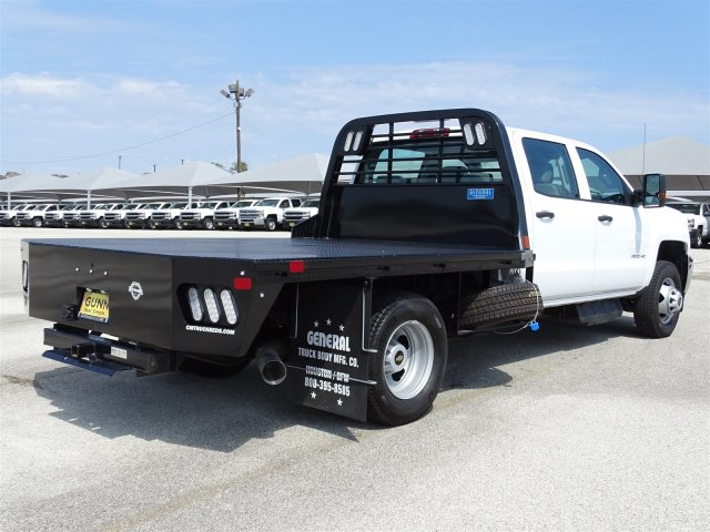 2018 Silverado 3500 Crew Cab DRW 4x2,  CM Truck Beds Platform Body #CC81942 - photo 5