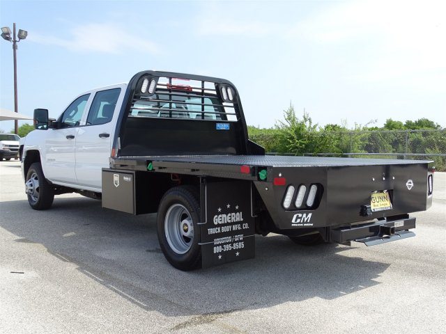 2018 Silverado 3500 Crew Cab DRW 4x2,  CM Truck Beds Platform Body #CC81942 - photo 2