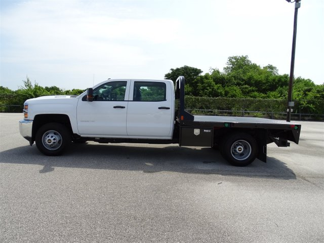 2018 Silverado 3500 Crew Cab DRW 4x2,  CM Truck Beds Platform Body #CC81942 - photo 8