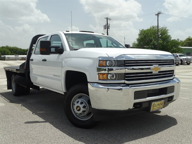 2018 Silverado 3500 Crew Cab DRW 4x4,  CM Truck Beds Platform Body #CC81961 - photo 3