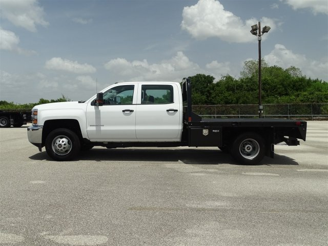 2018 Silverado 3500 Crew Cab DRW 4x4,  CM Truck Beds Platform Body #CC81961 - photo 5