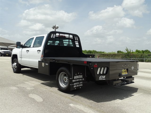 2018 Silverado 3500 Crew Cab DRW 4x4,  CM Truck Beds Platform Body #CC81961 - photo 2