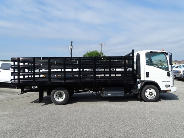 2018 LCF 4500HD Regular Cab 4x2,  Knapheide Stake Bed #CC82113 - photo 1