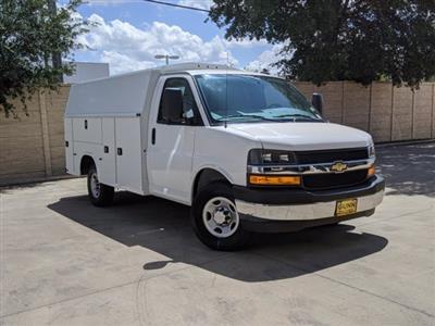 2020 Chevrolet Express 3500 4x2, Knapheide KUV Service Utility Van #CCT21342 - photo 1