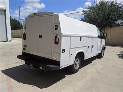 2020 Chevrolet Express 3500 4x2, Knapheide KUV Service Utility Van #CCT21342 - photo 2