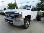 2018 Silverado 3500 Regular Cab DRW 4x4,  Cab Chassis #CFC81658 - photo 1