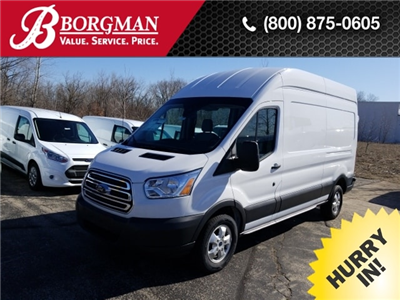 2017 Transit 350 High Roof 4x2,  Empty Cargo Van #17T1373 - photo 1