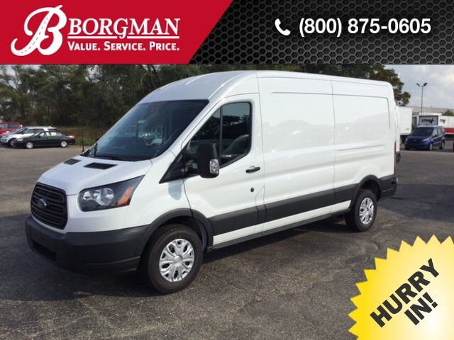 2017 Transit 250 Med Roof,  Empty Cargo Van #17T1410 - photo 1