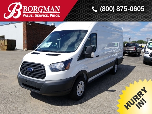 2018 Transit 350 High Roof 4x2,  Empty Cargo Van #18T1477 - photo 1