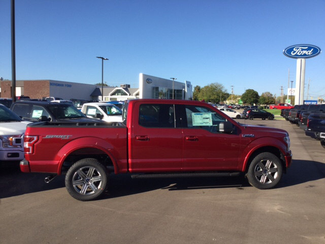 2018 F-150 Crew Cab 4x4 Pickup #18T212 - photo 5