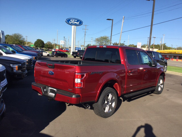 2018 F-150 Crew Cab 4x4 Pickup #18T212 - photo 9