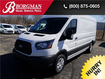 2018 Transit 250 Med Roof 4x2,  Empty Cargo Van #18T848 - photo 1