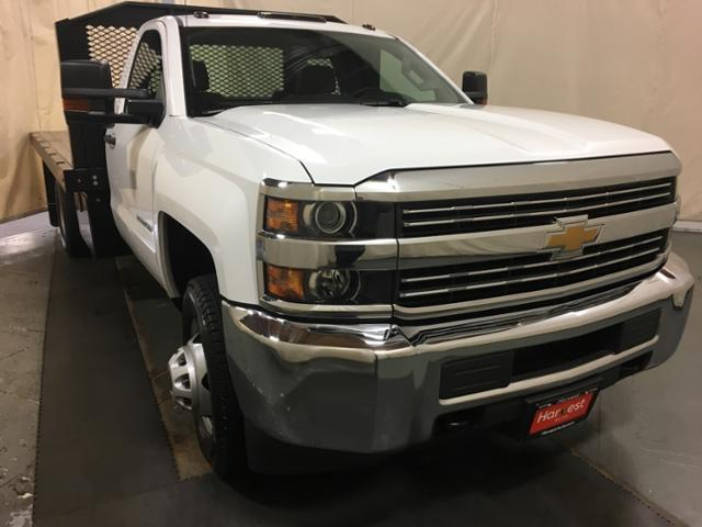 2018 Silverado 3500 Regular Cab DRW 4x2,  Platform Body #100666 - photo 4