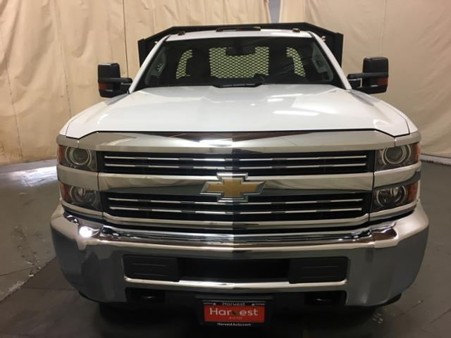 2018 Silverado 3500 Regular Cab DRW 4x2,  Monroe Platform Body #100666 - photo 3