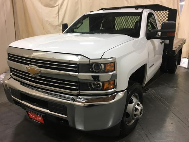 2018 Silverado 3500 Regular Cab DRW 4x2,  Monroe Platform Body #100666 - photo 4