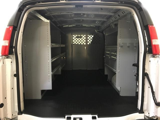 2019 Express 2500 4x2, Masterack Steel General Service Upfitted Cargo Van #171022 - photo 2