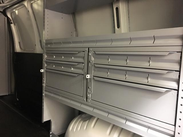 2019 Express 2500 4x2, Masterack Steel General Service Upfitted Cargo Van #171022 - photo 12