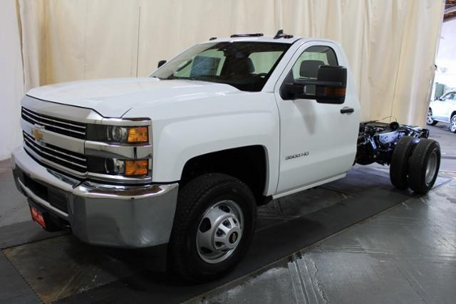 2018 Silverado 3500 Regular Cab DRW 4x4,  Cab Chassis #248025 - photo 1