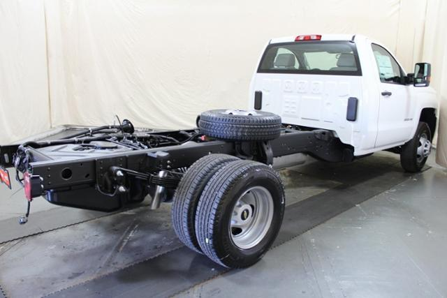 2018 Silverado 3500 Regular Cab DRW 4x4,  Cab Chassis #248025 - photo 7