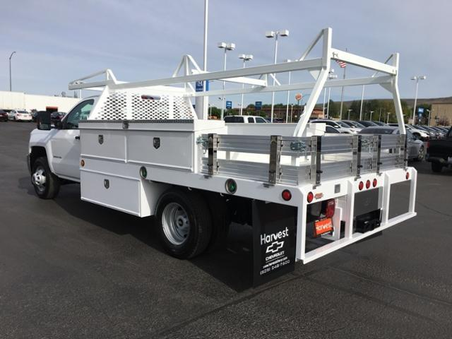 2019 Silverado 3500 Regular Cab DRW 4x4,  Scelzi Contractor Body #257414 - photo 1