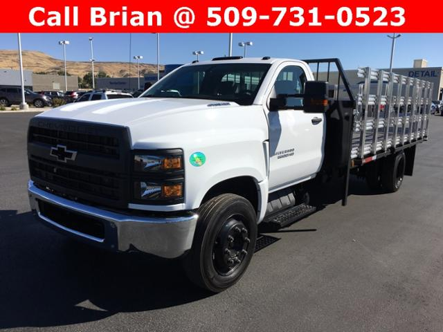 2019 Chevrolet Silverado 5500 Regular Cab DRW RWD, The Fab Shop Stake Bed #811478 - photo 1
