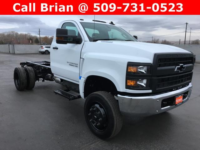 2019 Chevrolet Silverado 4500 Regular Cab DRW 4x4, Cab Chassis #886219 - photo 1