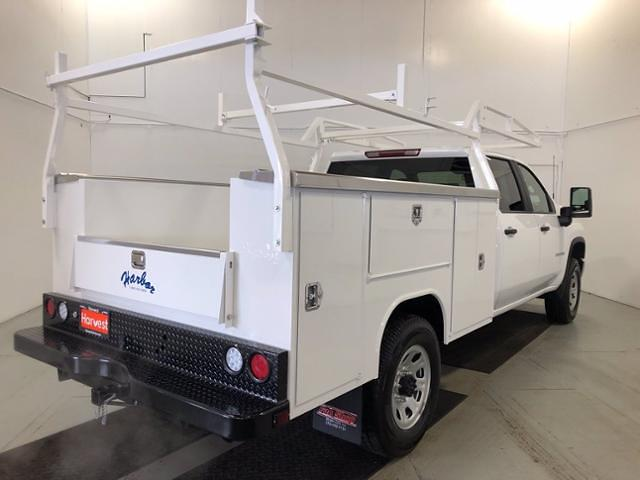 2021 Chevrolet Silverado 3500 Crew Cab 4x4, Harbor Service Body #F130133 - photo 1
