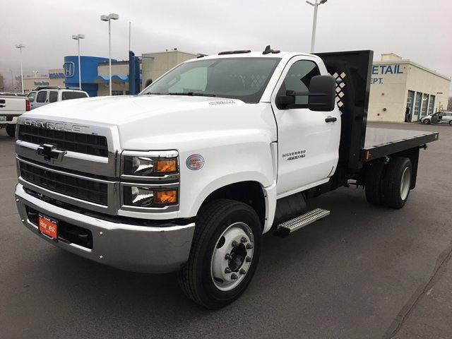 2020 Chevrolet Silverado 4500 Regular Cab DRW 4x2, Rugby Platform Body #F229470 - photo 1