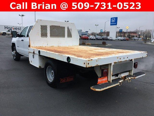 2016 Chevrolet Silverado 3500 Crew Cab DRW 4x4, Harbor Platform Body #FC287352 - photo 1