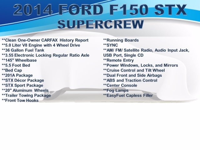 2014 Ford F-150 SuperCrew Cab 4x4, Pickup #F008471 - photo 3