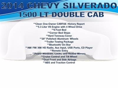 2014 Chevrolet Silverado 1500 Double Cab 4x4, Pickup #F008821 - photo 4