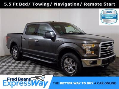 2017 Ford F-150 SuperCrew Cab 4x4, Pickup #F0184D - photo 1