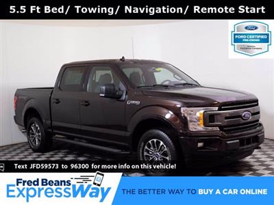 2018 Ford F-150 SuperCrew Cab 4x4, Pickup #F0230D - photo 1