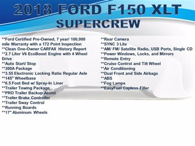 2019 Ford F-150 SuperCrew Cab 4x4, Pickup #F0231D - photo 4