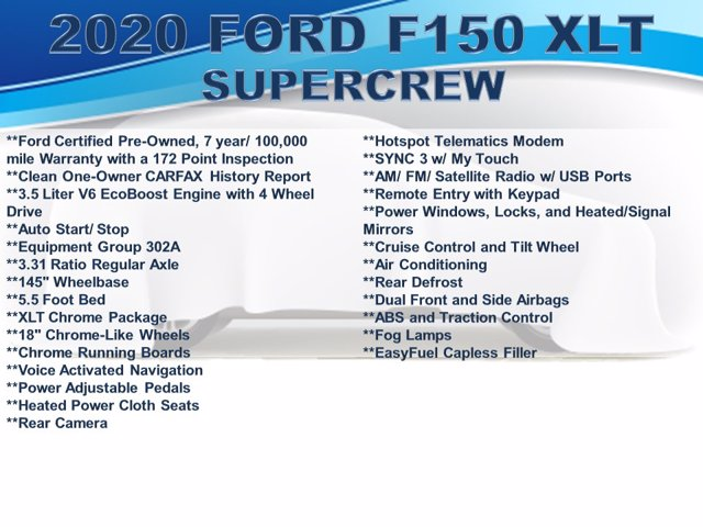 2020 Ford F-150 SuperCrew Cab 4x4, Pickup #F0268D - photo 4