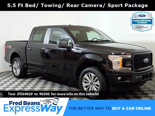 2018 Ford F-150 SuperCrew Cab 4x4, Pickup #F0322D - photo 1
