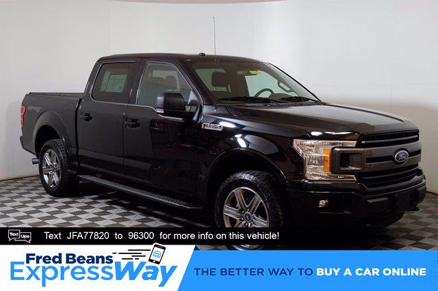 2018 Ford F-150 SuperCrew Cab 4x4, Pickup #F0342D - photo 1