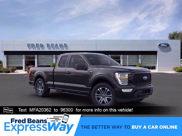 2021 Ford F-150 Super Cab 4x4, Pickup #F10064 - photo 1