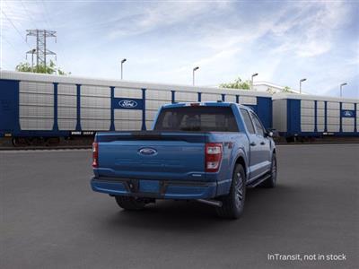 2021 Ford F-150 SuperCrew Cab 4x4, Pickup #F10071 - photo 2